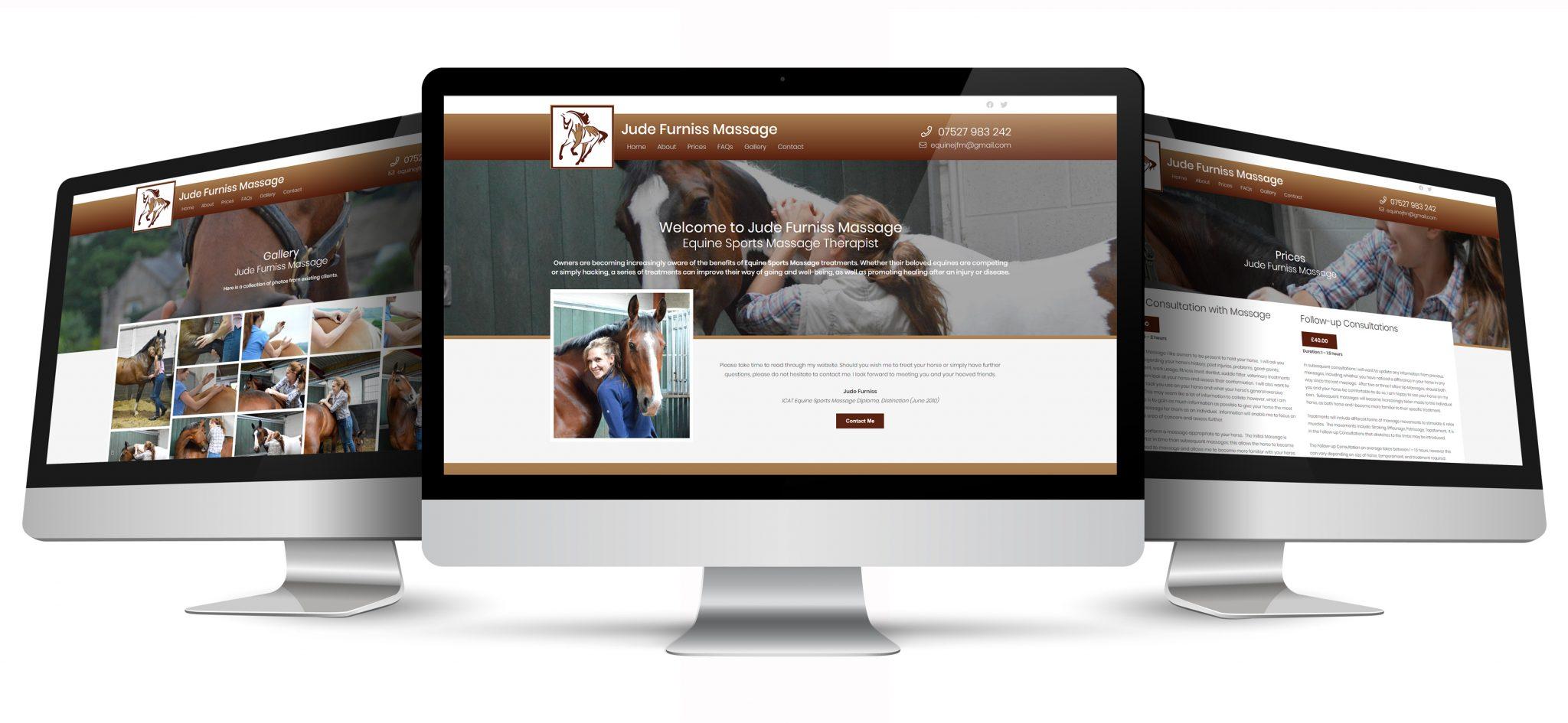 jude furniss massage website pages